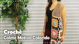 getlinkyoutube.com-COLETE COLORIDO - DIY - Suzete Lemos | Fazendo Arte