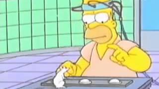 Homero Simpson vs rata de laboratorio