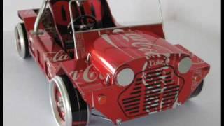 getlinkyoutube.com-Scale Modeling in Metal 1/10 scale Midget Racer & The Coke Moke