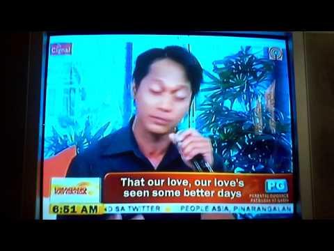Umagang Kay Ganda features Xyron De Guzman