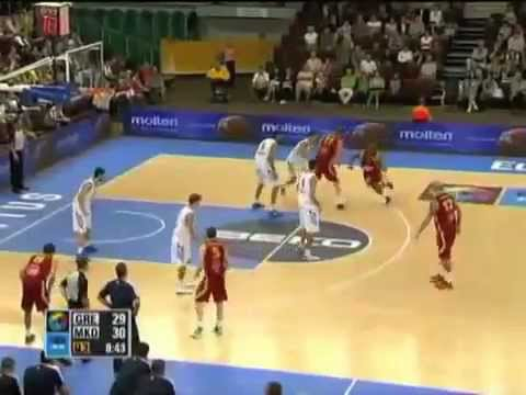 Macedonia vs Greece Eurobasket 2011 (72:58)
