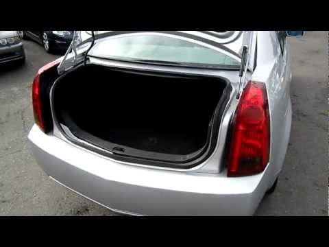 2003 Cadillac CTS, silver - Stock# L144466 - Trunk and Engine