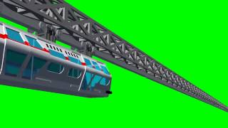 getlinkyoutube.com-Babylon 5 Monorail Train - free green screen