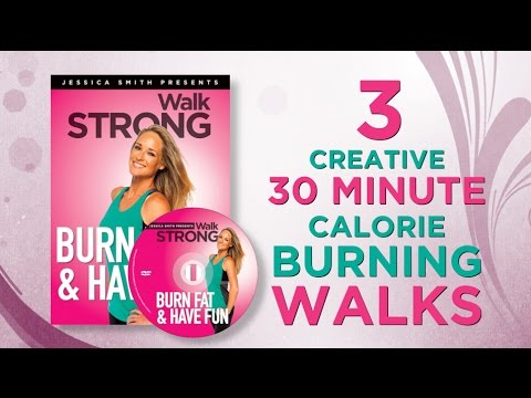 Burn Fat + Have Fun with our low impact, creative calorie burning walk at home routines!
