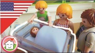 getlinkyoutube.com-Playmobil movie Anna Is Born / The Hauser Family