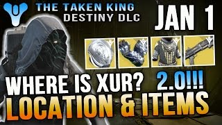 getlinkyoutube.com-Xur Location Jan 1 2016 Destiny Where is Xur 1/1/16 Invective January 1