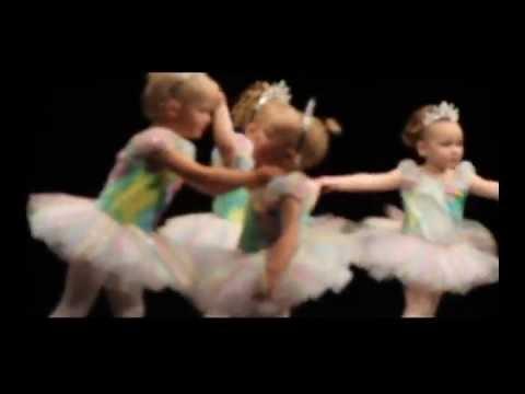 Tuča dvogodišnjih balerina