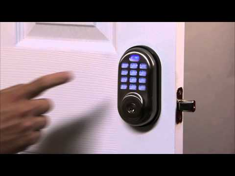 Yale Real Living Push Button Deadbolt Programming - User PIN Code Registration 02