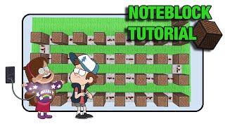 "getlinkyoutube.com-Gravity Falls Doorbell - Note Block ""Tutorial"" (Minecraft Xbox/Ps3)"