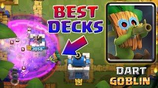 getlinkyoutube.com-DART GOBLIN DECKS from the BEST PLAYERS IN THE WORLD! BEST DECKS in Clash Royale