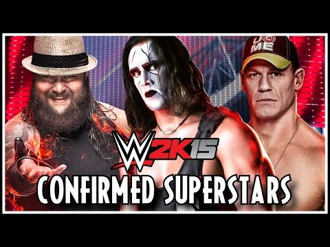 WWE 2K15 - 20+ Confirmed Superstars & Roster! (So Far)