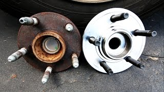 getlinkyoutube.com-How to Replace a Front Wheel Bearing