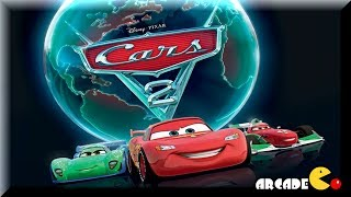 getlinkyoutube.com-Disney Pxar Cars 2 - World Grand Prix Read and Race- Lighting McQueen Cars Toon Game