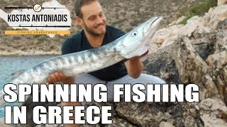 spinning fishing in greece