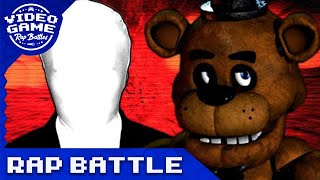 getlinkyoutube.com-Freddy Fazbear vs. Slenderman - Video Game Rap Battle