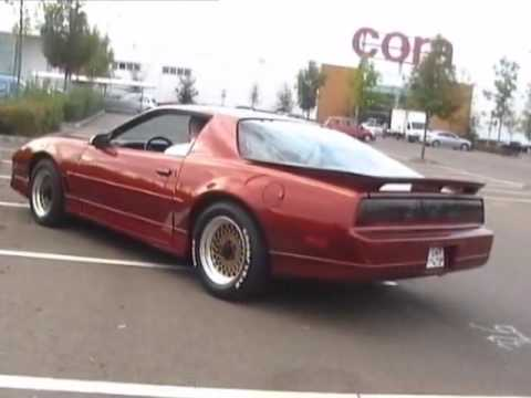 1987 Pontiac Firebird Trans Am GTA 5.7 V8