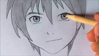 getlinkyoutube.com-como dibujar ojo anime masculino