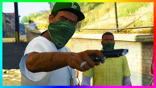 getlinkyoutube.com-GTA 5 - The Secret Campaign Ending Featuring Lamar Davis That Never Happened Explained! (GTA 5)