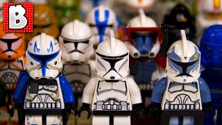 getlinkyoutube.com-Every Lego Clone Trooper Ever!!! Rare May the 4th Shadow ARF Trooper! | Collection Review