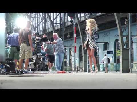 Making the Victoria's Secret 2011 Holiday TV Shoot: The Train Station