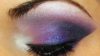 getlinkyoutube.com-Dramatic Purple Smokey Eyes Makeup Tutorial by MissChievous