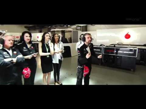 Formula 1 2012 Chinese Grand Prix Highlights