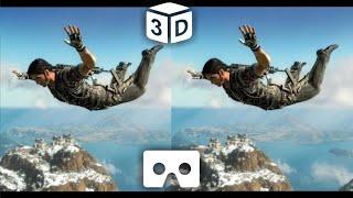 getlinkyoutube.com-Best VR Sky Diving 3D VIDEO HD | Google Cardboard VR Box Video 3D SBS HD 1080p
