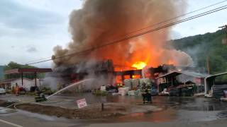 getlinkyoutube.com-Very Large Fire in Roan Mountain(2)