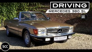 getlinkyoutube.com-MERCEDES-BENZ W107 380 SL 1982 - Full test drive in top gear - Engine sound | SCC TV
