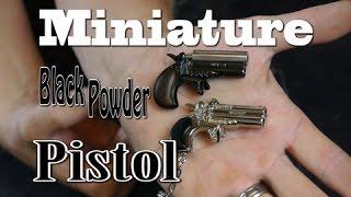 getlinkyoutube.com-Miniature Black Powder Pistol (Time Lapse)