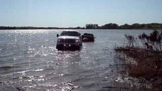 2003 Powerstroke pulling out 2010 Duramax