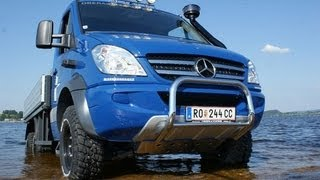 getlinkyoutube.com-Mercedes Benz Sprinter 6x6 Allrad
