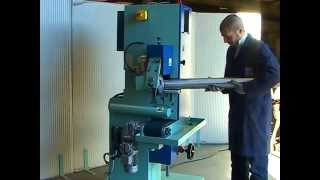getlinkyoutube.com-FLAT DEBURRING AND ROUND TUBE POLISHING MACHINE TYPE DUO