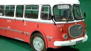 getlinkyoutube.com-Autobus Jelcz 043 ,,Ogórek'',ADW Model