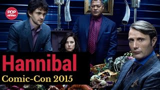 SDCC 2015: elenco de Hannibal