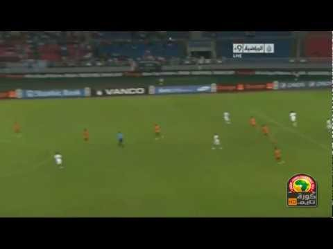 Zambia Vs Ghana 1-0 All Goals Highlights 08/02/2012 CAF Africa Cup 2012