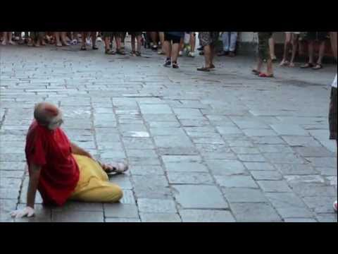Funny Clown in Florence