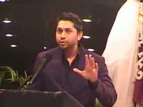Ansab Khan Speaks at Book Launch of Wajahat Ali Abbasi