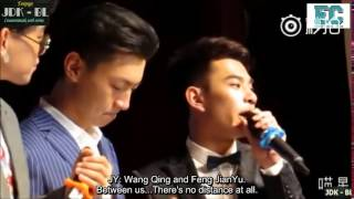 "getlinkyoutube.com-[ENGSUB] ""I love Feng JianYu"" - 150809 Counterattack Web Series's Press Conference [Cut]"