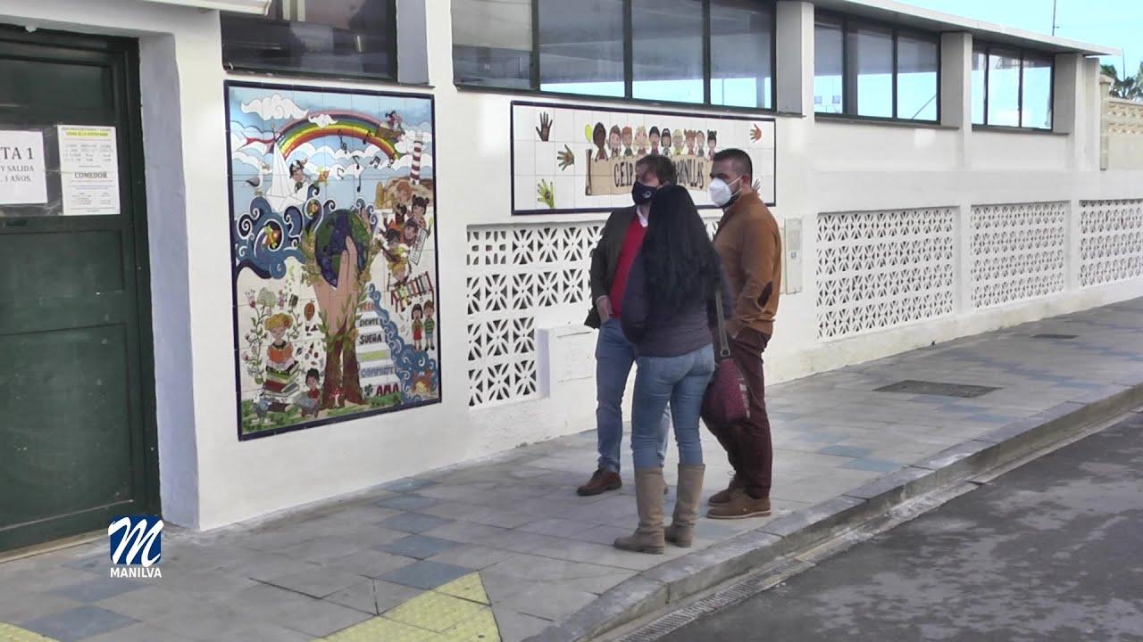 Nuevo Mural en el Colegio San Luis
