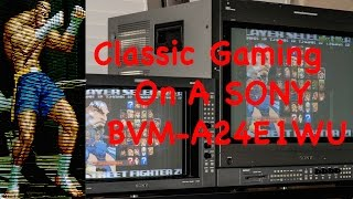 getlinkyoutube.com-Classic Gaming on a Sony BVM D24E1WU