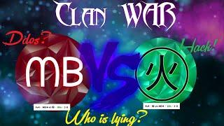 getlinkyoutube.com-ClanWar :  ᗰᗷ❖ vs ㊋ (chinatown) [4v4] - TRUE STORY [Agar.io]