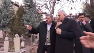 Başbakan Yıldırım Muhsin Yazıcıoğlu'nun kabrini ziyaret etti