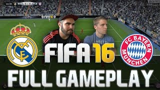 getlinkyoutube.com-FIFA 16 REAL MADRID VS BAYERN MÜNCHEN FULL GAMEPLAY [HD+ 60FPS PS4 / XBOX ONE]