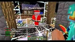 getlinkyoutube.com-Minecraft - Navidad 2011 Papanoel Entrega Regalos Minecub.es