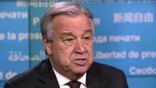 Message by António Guterres on the occasion of World Press Freedom Day 2017