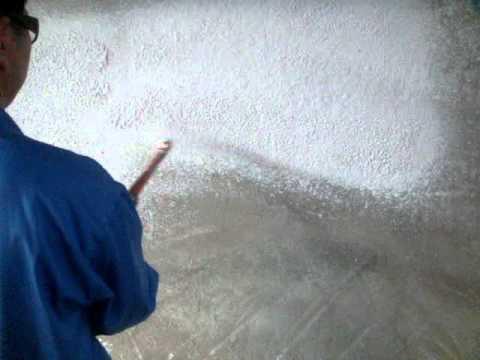 Maquina para hacer friso de cemento al pared 1
