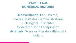 Forskartorget 2015 -  ROMERNAS HISTORIA