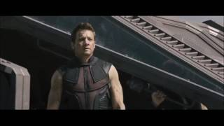 getlinkyoutube.com-Hawkeye/ Clint Barton Fight Scenes ( Avengers: AOU and CA: Civil War)