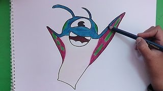 getlinkyoutube.com-Dibujando y coloreando a Zipper (Bajoterra) - Drawing and coloring Zipper